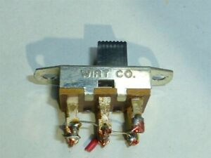 Hickok 600a Tube Tester Meter Reverse Switch