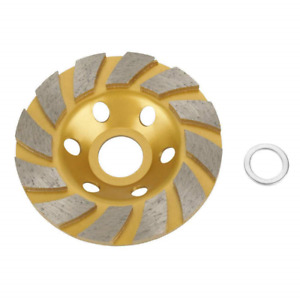 4inch Concrete Turbo Disc Diamond Grinding Cup Wheel For Angle Grinder 12 Segs