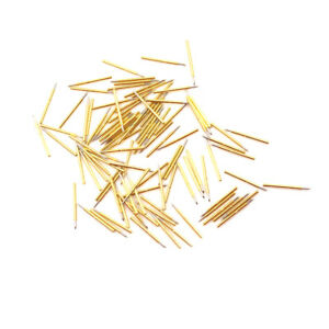 100pcs P75 b1 Dia 1 0mm Cusp Spear Spring Loaded Test Probes Pogo Pins To hu