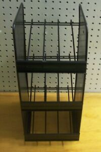 Store Display Fixtures 3 Shelf Counter Top Wire Shelf Display 17 Tall