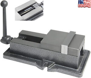 4 Inch Heavy Duty Lock Down Vise High Accuracy Milling Clamping Bench Clamp Tool
