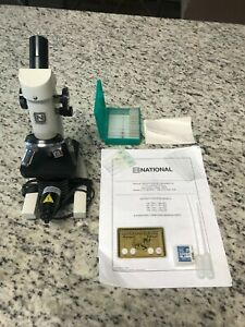 Microscope National 109 Elementary Compound