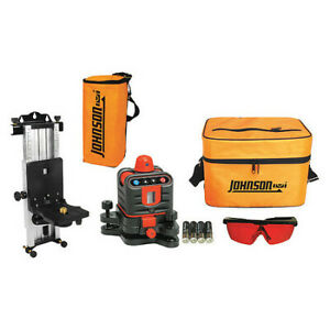 Johnson 40 6507 Rotary Laser Level int ext red 800 Ft