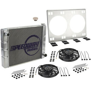 Universal Sbcbbc Radiator Kit Withdual Electric Fans 31 Inch