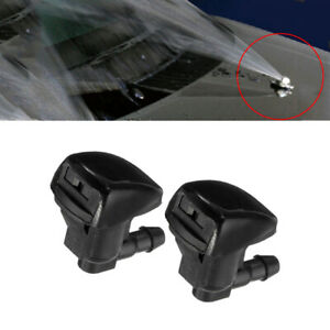 2pcsset Car Front Windshield Water Spray Wiper Nozzle Accessories For Toyota Fits 2013 Camry