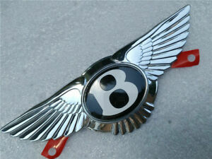 1 X Bentley Continental Gt Gtc Flying Spur Emblem Front Grille Wing Badge New