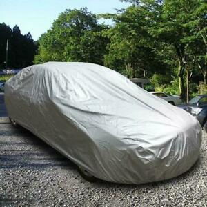 Gray 210d Oxford Cloth Protective Car Cover Dustproof Scratch Resistant Size L Fits 2012 Camaro