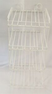 Store Fixture Supplies Wire Counter Top pegboard Display Rack 12 Compartments