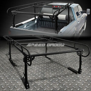 132 X 57 Universal Pickup Truck Ladder Rack Trunk Bed Over Cab Cargo Storage