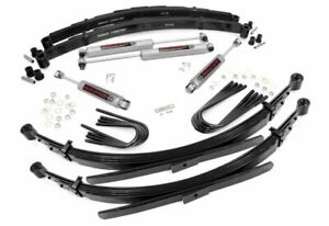 Rough Country 4 Suspension Kit For 1969 1972 Chevy Truck Blazer 4wd 18030