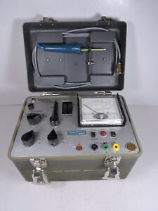 Vintage Tequipco Model 3 Transistor Diode Tester Not Working Test Equipment
