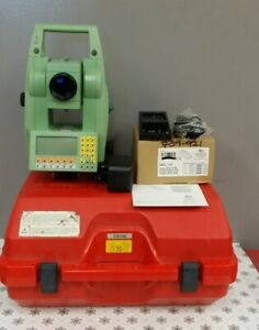 Leica Tcr1105 Total Station Dual Screen Battery Charger For Parts