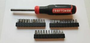 Craftsman 73 Pc Nut Driver Hex Bit Set With 43373 Magnetic Handle