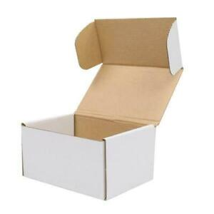 50 Corrugated Paper Boxes 6x4x3 Cardboard Paper Boxes Mailing Packing Shipping