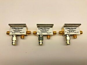 Lot Of 3 Mini circuits Zx30 20 462hp Bi directional Coupler 2600 To 4600mhz