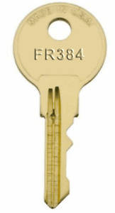 Steelcase Fr384 File Cabinet Desk Cubicle Mobile Pedestal Replacement Key