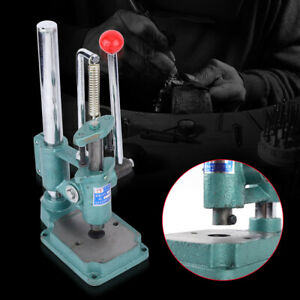 Manual Heavy Duty Leather Stamp Imprinting Machine Diy Cutting Punching Tool