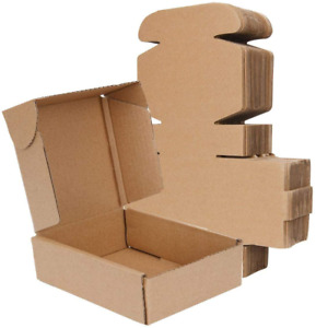 Kaderron Small Shipping Boxes 8 X 6 X 2 Recyclable Corrugated Box Mailers 30