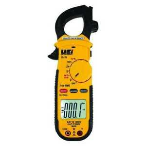 Uei Test Instruments Dl479 Clamp Meter Backlit Lcd 600 A 1 3 In 33 Mm Jaw