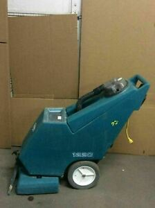 Tennant 1220 Self contained Carpet Cleaner extractor Working