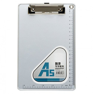 Chris w A5 Recycled Aluminum Clipboard With Low 6 X 9 Inches silvery