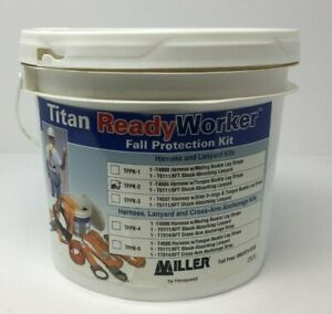 Miller Titan By Honeywell Fall Protection Kit Tfpk 2