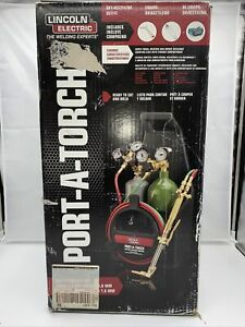 Lincoln Electric Kh990 Port a torch Portable Welding And Cutting Torch Kit