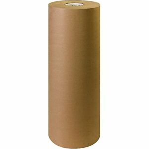 Box Usa Kraft Brown Paper Roll 50 24 X 720 100 Recycled Paper Ideal For S