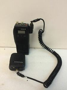 Ge Ericsson Kdr 103 111 Portable Radio W mic Kry101 1617 And Battery Working