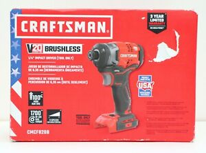 Craftsman Cmcf820b 20v Brushless Cordless Impact Driver Tool Only New In Box