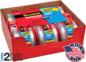 Heavy Duty Packaging Tape 1 88 X 22 2 Yd Designed For Packing Shipping