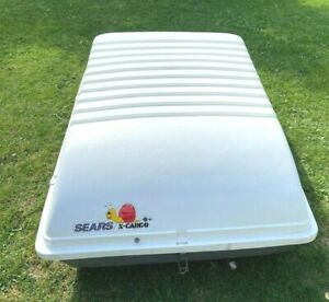 Sears X Cargo Large Car Rooftop Storage Carrier 50 Long X 38 Wide X 20 Tall