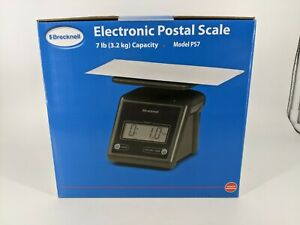 Brecknell Electronic 7lb Postal Scale 7 24 Lb 3 29 Kg Maximum Weight