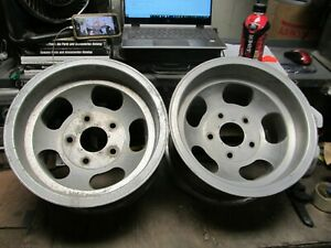 Vintage 15x8 5 Slot Mag Wheels Ford Van 5 On 5 5 Truck E 150 F 150 Jeep 2wd