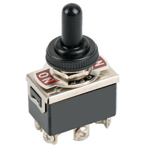 6pin Mini Toggle Switch 15a 125v Boot Cap On off on Rubber Industrial