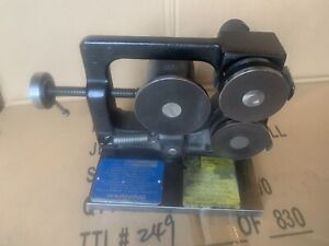 St Mary Mfg Spin Roll Fixture Used But In Great Shape Grinding Toolmaker