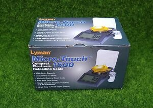 Lyman Micro Touch 1500 110V Electronic Reloading Scale Grain or Gram 7750700 $71.20