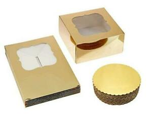 Cake Boxes 10 X 10 X 5 And Cake Boards 10 Inch Bakery Boxes With Gold Cake Box