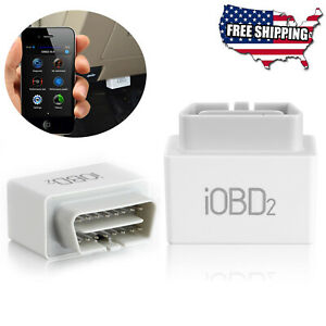 Xtool Iobd2 Engine Code Reader Diagnostic Bluetooth Scanner For Ios Android Obd2