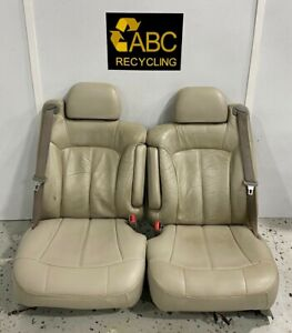 2001 Chevy Tahoe Front Left Driver Right Passenger Seat Leather An3