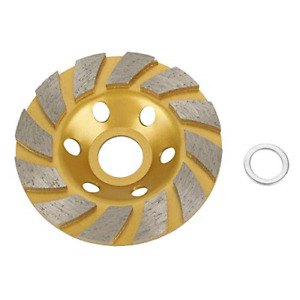 4 inch Concrete Turbo Disc Diamond Grinding Cup Wheel For Angle Grinder 12 Segs