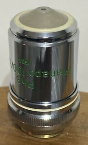 Zeiss Ph3 Planapo 100 1 3 Oil 160 Phase Contrast Microscope Objective