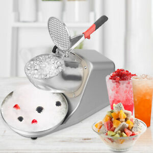 Electric Ice Crusher By 300b 300w 143 Lbs Shaver Machine Snow Cone Maker Shaved