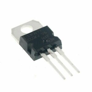 10pcs Lm317t Lm317 Linear Variable Voltage Current Regulator To 220