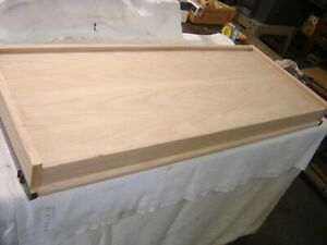 Replacement Oak Stack File Cabinet Top Arts Crafts Style W Metal Bands 1526