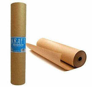Kraft Brown Wrapping Paper Roll 48 X 1 800 150 Ft 100 Recyclable Craft