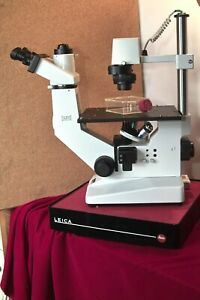 German Made Hund Inverted Phase Contrast Photomicroscope Ivf micromanipulation