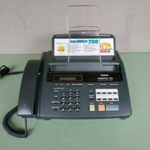 Brother Intellifax 750 Home office Plain Paper Fax