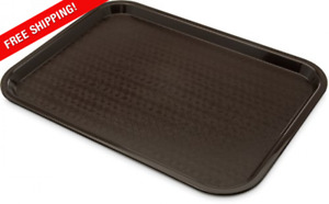 Standard Food Serving Gray Tray Fast Food Diner Dish Lunch Restaurant Catering
