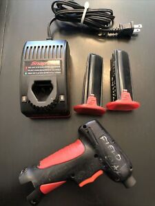 Snapon 7 2v Power Screwdriver Set W 2 Batteries And Charger